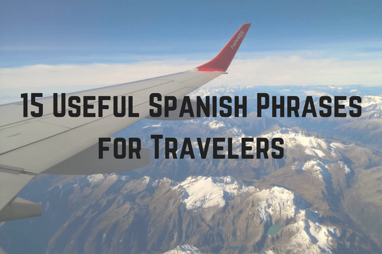 Spanish Phrases for Travelers