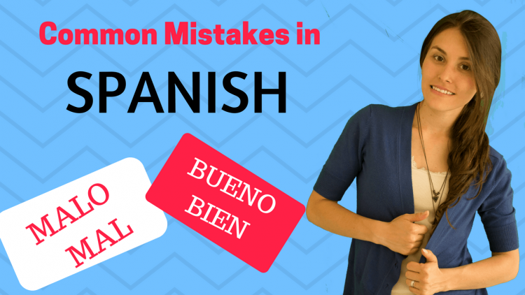 Spanish Grammar Mistakes