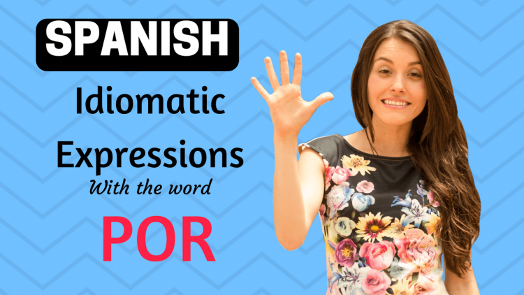 idiomatic expressions with POR