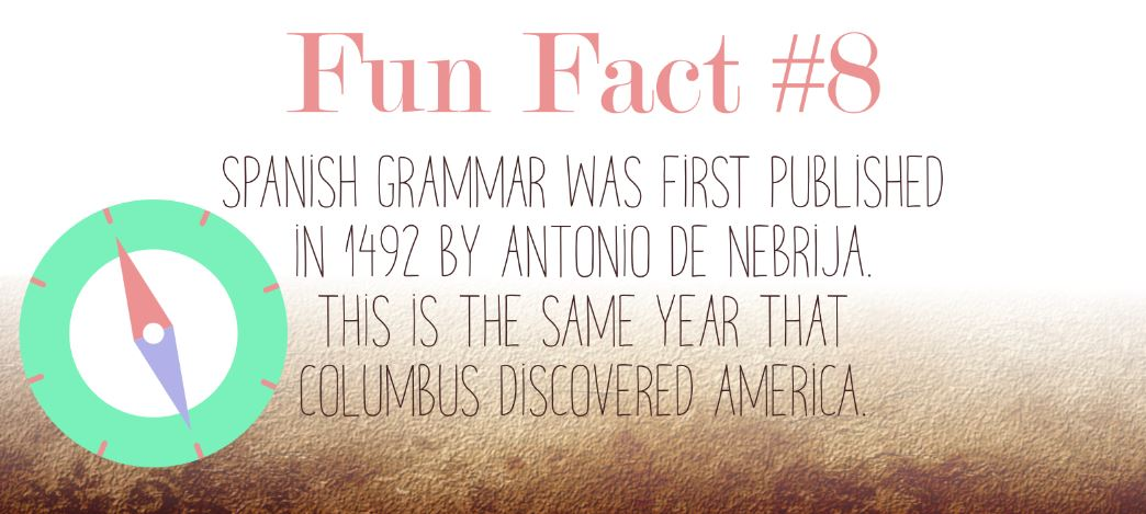 11 Fun Facts About The Spanish Language [Infographic]