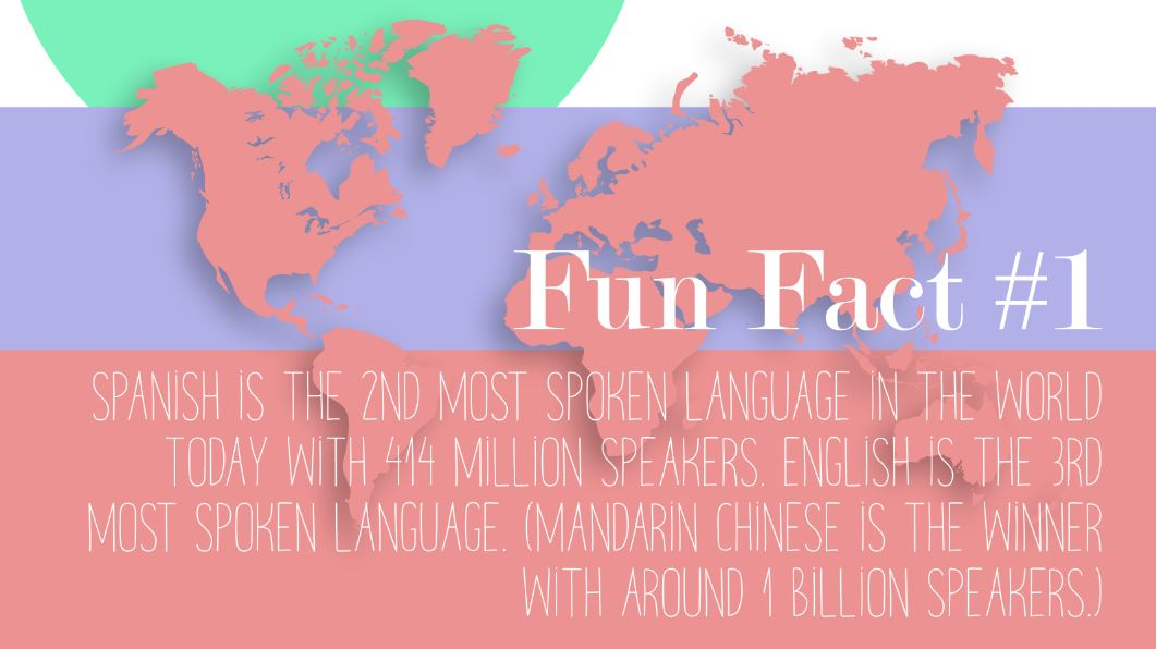 interesting facts on the spanish language