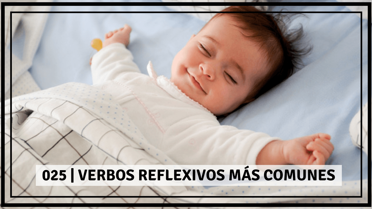 common reflexive verbs in Spanish