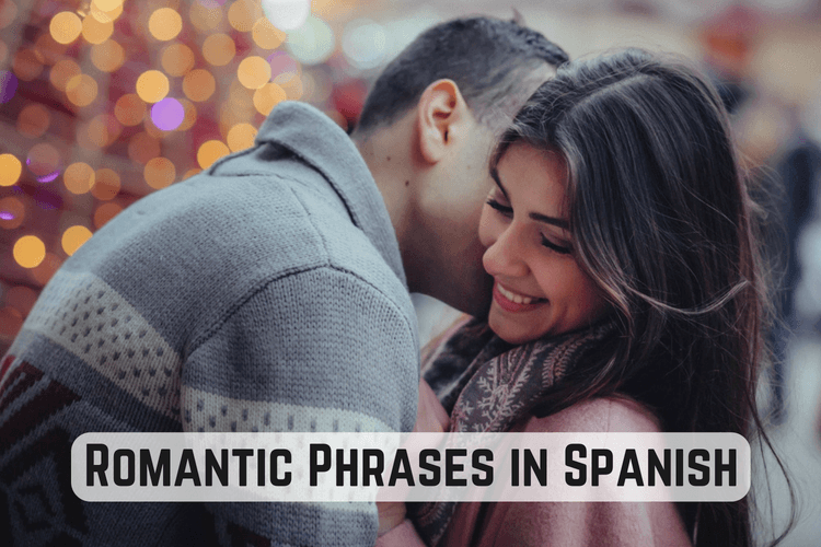 Romantic phrases in Spanish