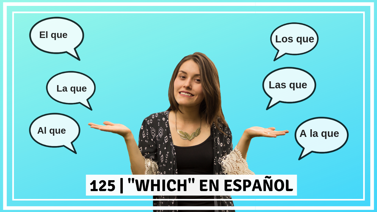 Which in spanish