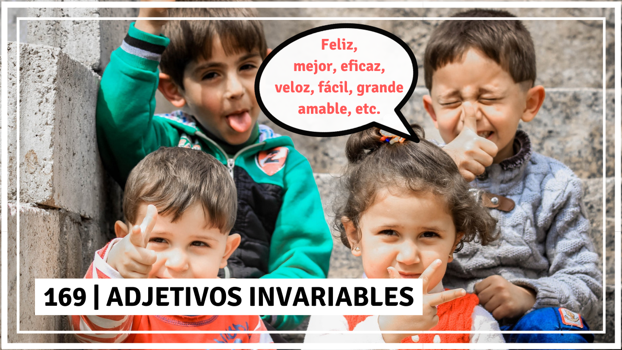 adjetivos invariables